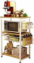 RSWLY Küchenregal stehend Lagerregal Haushalt 3