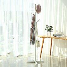 RSWLY Massivholzboden Kleiderbügel Schlafzimmer