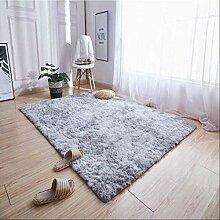 RSZHHL Teppich Bunter Batikteppich mit Farbverlauf