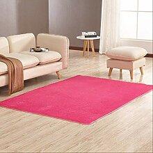 RSZHHL Teppich Wohnzimmer Couchtisch Seide