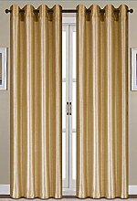 RT Collection Nancy Tülle Fenster Panel, 54von 84Zoll), beige gold