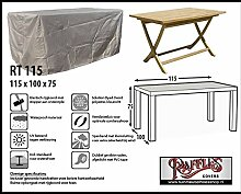 RT115 Schutzhülle für rechteckige Gartentisch Schutzhülle für rechteckigen Gartentisch, Abdeckhaube für Gartentisch, Gartenmöbel Abdeckung