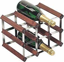 RTA 9 Flaschen, fertig zum Montieren, Weinregal,