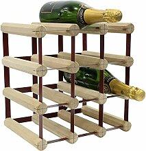 RTA Traditionelles Weinregal aus Eichenholz für