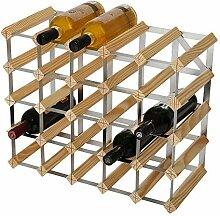 RTA Traditionelles Weinregal für 25 Flaschen,