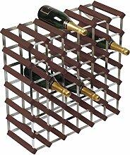 RTA Traditionelles Weinregal für 42 Flaschen,