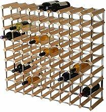 RTA Traditionelles Weinregal für 81 Flaschen,