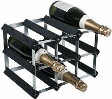 RTA Traditionelles Weinregal für 9 Flaschen,