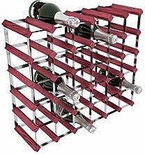 RTA Weinflaschenhalterung aus verzinktem Stahl,