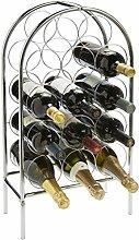 RTA Weinregal für 14 Flaschen, Metall,