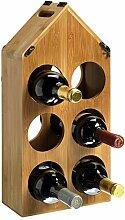 RTA Weinregal für 6 Flaschen, anpassbar