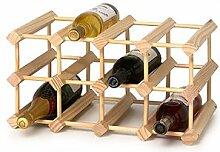 RTA Wine Racks Weinregal, Kiefernholz, für 12