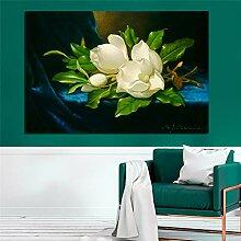 RTCKF Blumen Auf Leinwand Poster Romantische
