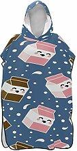 Rtosd Mini Niedlichen Cartoon Milch Box Surfer