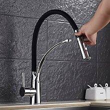 RTTGOR Wasserhahn Küchenarmatur 360 rotierenden