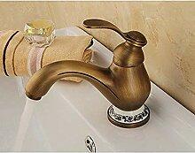 RTTGOR Wasserhahn Messing Bad Wasserhahn Bad