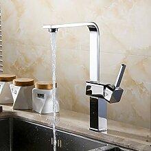 RTTGOR Wasserhahn Platz Küchenarmatur Waschbecken