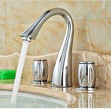RTTGOR Wasserhahn Waschbecken Waschbecken