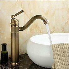 RTTGOR Wasserhahn Waschtischarmaturen Antik