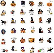 RTUTUR Halloween-Aufkleber Netter