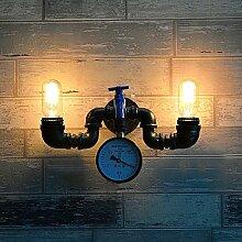 Ruanpu Industrielle Vintage Wandlampe Wandleuchte