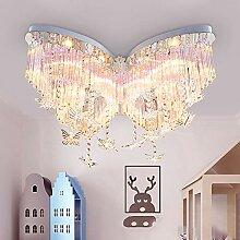 Ruanpu Mädchen Deckenlampe Schlafzimmerlampe