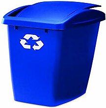 RUBBERMAID Mülleimer, blau