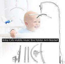 Rubyu Babybett Mobile Bett Glocke Rassel