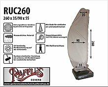 RUC260 Schutzhülle für Ampelschirm, Gebogen Modell Schirmhülle, Hochwertige Schutzhülle für Ampelschirm, Sonnenschirmhülle
