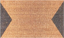 Ruckstuhl - Fußmatte, Dreieck-Muster grau