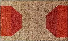 Ruckstuhl - Fußmatte, Strichmuster rot