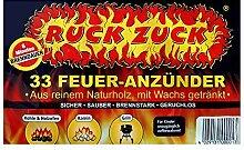 RuckZuck Öko-Feueranzünder Holzanzünder Ruck