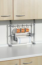 Ruco Küchenregal, Aluminium/Kunststoff, mit