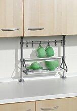 Ruco Küchenregal, Aluminium/Kunststoff, zum