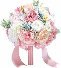 Ruda Pfingstrose Rosen Hochzeitssträuße