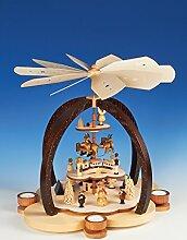 Rudolphs Schatzkiste Teelichtpyramide
