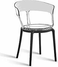 Rückenlehne Stuhl, Moderne Coffee Shop Kunststoff