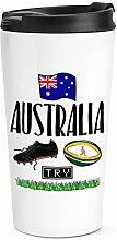 Rugby Australia Reise Becher Tasse