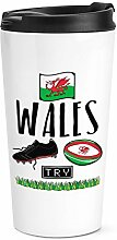 Rugby Wales Reise Becher Tasse