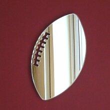 Rugbyball Spiegel 40cm x 30cm