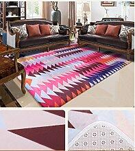 rugs Supermarket- Moderner abstrakter Teppich - Wohnzimmer \ Sofa \ großer Teppich \ Schlafzimmer Bedside Decke ( Farbe : 3# , größe : 1.4*2m )