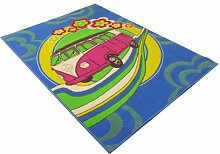 Rugs With Flair Teppich Retro Funky Roadtrip