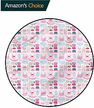 RUGSMAT Baby-Teppich, waschbar, kreativ, modern,