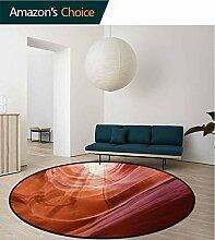 Rugsmat Usa Teppich, rund, Naturmotiv im Inneren
