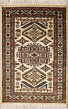 Rugstc 79x122 Caucasian Design Area Rug with Wool
