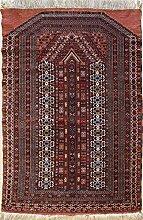RugsTC 97 x 147 Caucasian Design Area Rug with