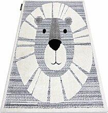 Rugsx - Moderner Kinderteppich JOY Lion Löwe,