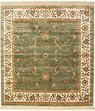 RugVista Sarina - grün Teppich 200x200