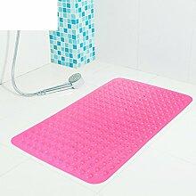 RUHHDFGSDJCFJXF Anti-Rutsch Badvorleger/Eine Dusche Nehmen,Bad,Geschmacklos Matten/Toilette WC-Pad/Massage Badematte/über Die Wassermatratze-F 36x71cm(14x28inch)