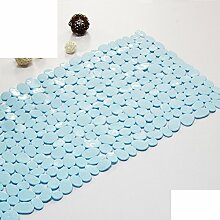 RUHHDFGSDJCFJXF Grün PVC Badematte/Toilette,Badezimmer Matte/Solide Kunststoffmatten/Dusche Matten-K 35x70cm(14x28inch)